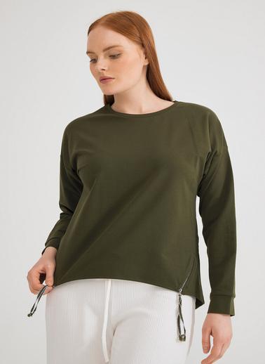 Love My Body Sweatshirt Haki
